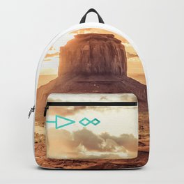 Mandala Desert Dawn Backpack