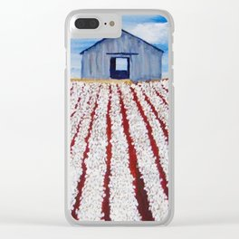 Cotton Country Clear iPhone Case