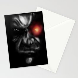 Solid Eye Red Stationery Cards