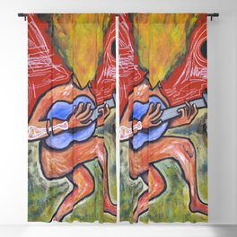 Mind on fire Blackout Curtain