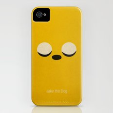 Minimalist Adventure Time Jake iPhone (4, 4s) Slim Case