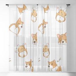 Cute as Hecc Sheer Curtain
