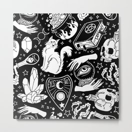 Witchy Vibes Metal Print