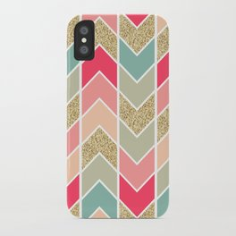 Distorted Chevron in Dream Sequence iPhone Case