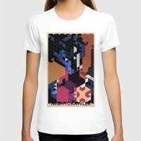 nightcrawler T-shirts featuring Geometric Nightcrawler by Head Glitch