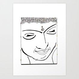 Buddha XIV Art Print