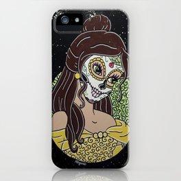 Belle Sugar Skull iPhone Case
