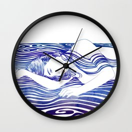 Water Nymph XXX Wall Clock