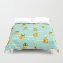 Pineapple Dots  Duvet Cover