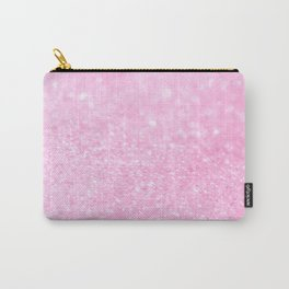 Pink Shiny Glitter Abstract Bokeh #decor #society6 Carry-All Pouch