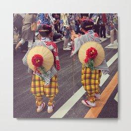 Matsuri Children Metal Print