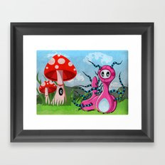 Kate'rpillar Framed Art Print