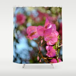 Pink in Nature Shower Curtain