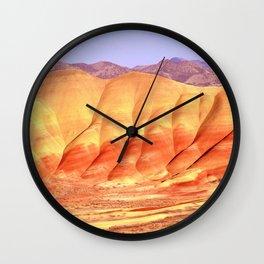 PAINTED HILLS - OREGON Wall Clock