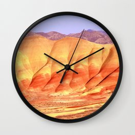 PAINTED HILLS - OREGON Wall Clock