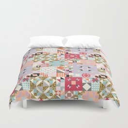 Moroccan Quilt Pattern Duvet Cover