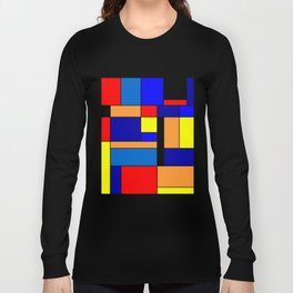 Mondrian #2 Long Sleeve T-shirt