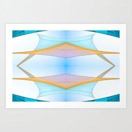 Summer Sails Art Print
