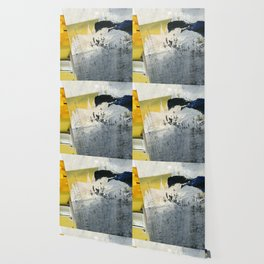 Mellow Yellow Texture Collage Wallpaper