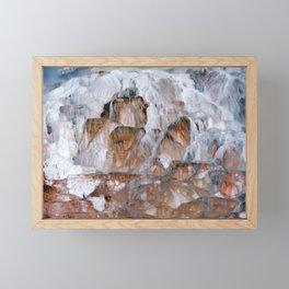 Mammoth Hot Springs Yellowstone Framed Mini Art Print