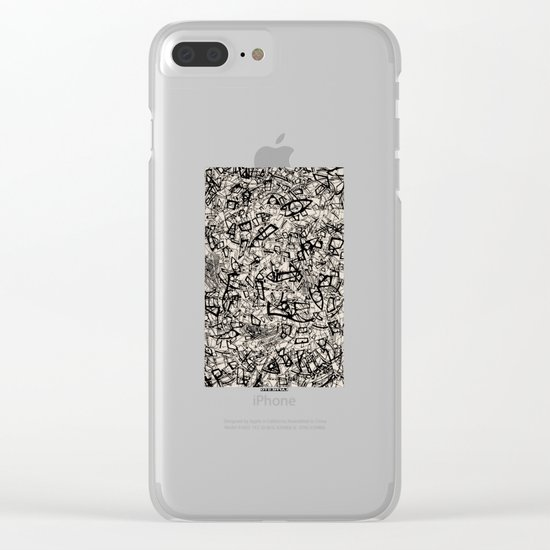 - newspaper - Clear iPhone Case