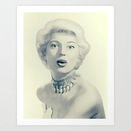 Carol Channing Art Print