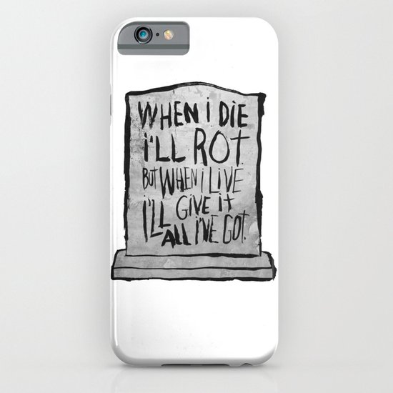 I'M ALIVE iPhone & iPod Case