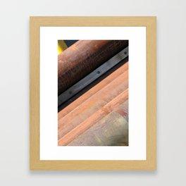 Urban Pipes Framed Art Print