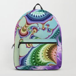 Whimsical colorful gulfstream Backpack