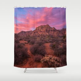 Sunrise at Red Rock Shower Curtain