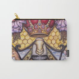 Bee The Light by DeeDee Draz Carry-All Pouch
