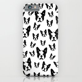 SPECIAL GIFTS for the Boston Terrier lover from MONOFACES in 2020 iPhone Case