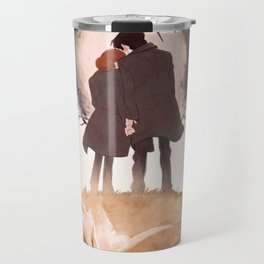 Fable of Mulder and Scully Travel Mug