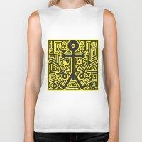 religion Biker Tanks featuring Religion Icon by Thisisnotme