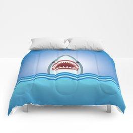 Cartoon Shark Comforters