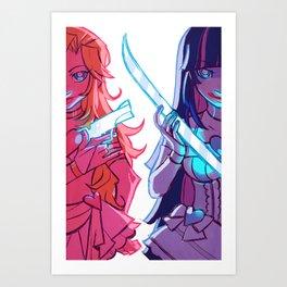 Repent Art Print