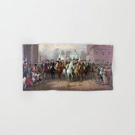 General Washington Enters New York Hand & Bath Towel