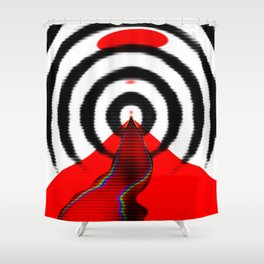 Stairs to Hell Shower Curtain