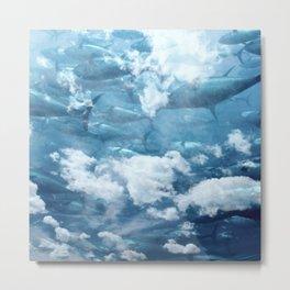 Tuna skies Metal Print