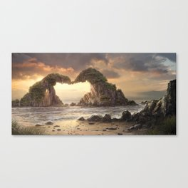 Solid Love Canvas Print