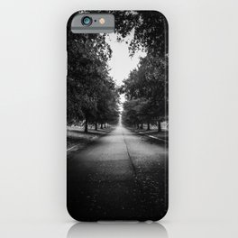 The Lone Walk iPhone Case
