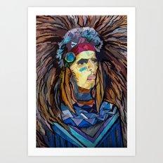 Indiano Art Print