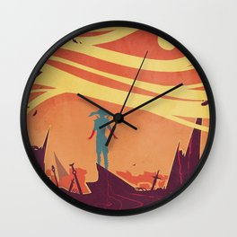 The Bloodiest Hands Wall Clock