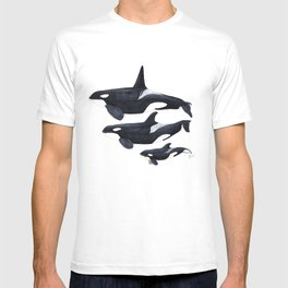 Orca (Orcinus orca) T-shirt