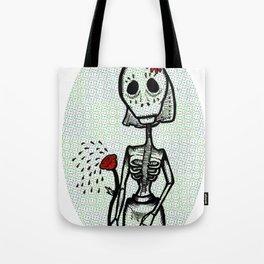 Love and bones Tote Bag