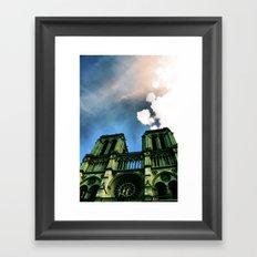 Notre Dame de Paris. Framed Art Print