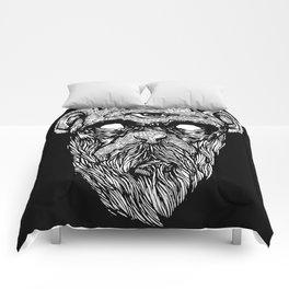 Bearded Ape r2 Comforters
