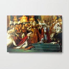 Le Sacre De Napoleon  Metal Print