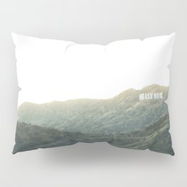 Travel photography A way to Hollywood II Pillow Sham