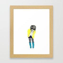 we were laughing so hard that we... Framed Art Print